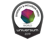 Universum Top 50 Employer for Diversity & Inclusion 2019